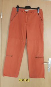 Hose Damen lang orange von
