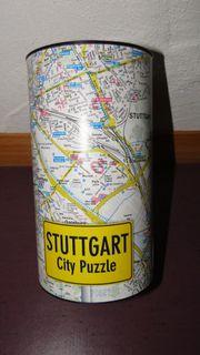 Stuttgart City Puzzle