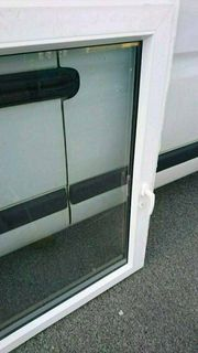 Mehrere einflügige Kunststofffenster