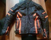 Neuwertige Heyberry- Textil-Motorrad-Jacke Gr 52