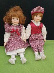 Porzellan Puppen ca 30cm