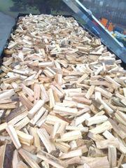 Brennholz Buche Esche getrocknet zu
