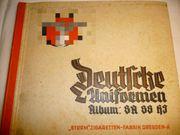 Sammelbilder-Album Deutsche Uniformen SA SS