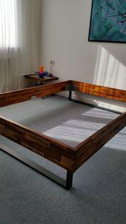 Unbenutztes neues Factoryline-Bett 140x200 von