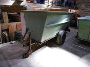 Traubenwagen Erntewagen Zeilenwagen Einachser Kippbar