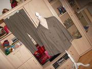 neu hosenanzug beige grau gr