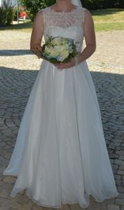 Brautkleid ivory Größe 38