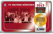 Sammleredition - FC Bayern MünchenTriple 2013