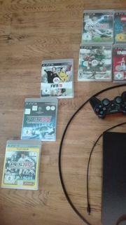PS 3 inkl 9 Spiele