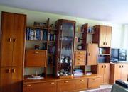Schrankwand Wohnzimmerschrank Massivholz furniert NP