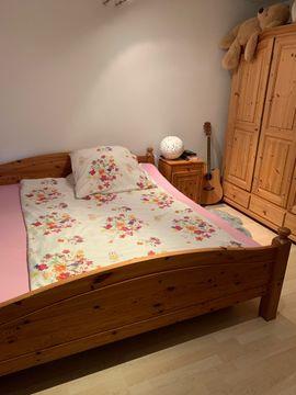 Schränke, Sonstige Schlafzimmermöbel - Schlafzimmer Kiefer Holz Bauernschlafzimmer