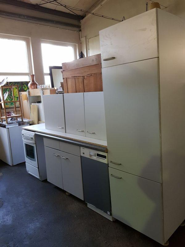 Küche Kleine Single Küchenzeile Grau Günstig In Speyer