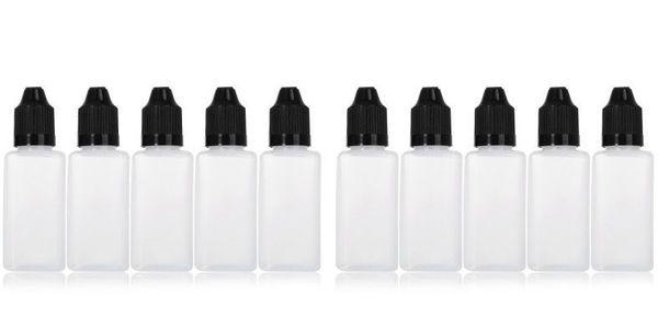 30ml eckige Flaschen - 10 STÜCK -