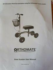 Knie Rollator Hilfe bei Fußverletzungen