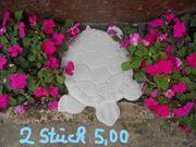 2x Betonfigur Schildkröte