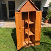 Kleines Gartenhaus Gartenschrank perfekt für