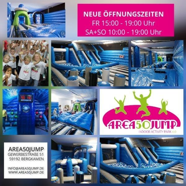 Area 50 Jump NEU in