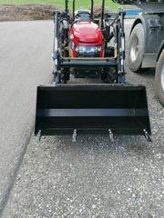 Traktor Allrad Frontlader Schmallspur