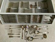 Silberbesteck 800er für 12 Personen
