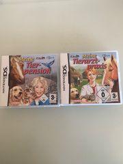 2 Nintendo DS Tier Spiele