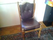 bequeme Stühle mit Lederbezug Leder