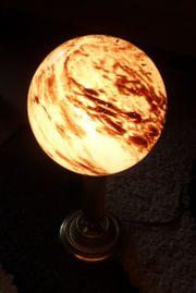 Lampe Spätes Art Deco Opakglas