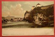 AK historisch Kufstein Innparthie 1903