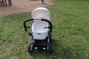 Emmaljunga Kinderwagen mit Babyschale und