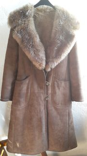 Damen Vintage Wintermantel