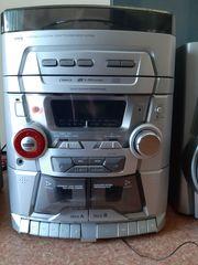 Stereoanlage - 3fachCD - Schallplatten Player
