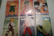 6 Dragonball Saga Freezer Sammelkarten-Deutsch-