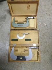 Micrometer Messwerkzeuge