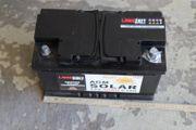 AGM GEL Batterien für Wohnmobil