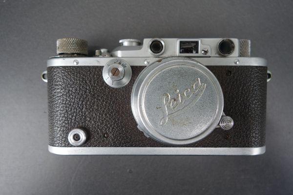 Vorkriegs-Leica mit Zubehör