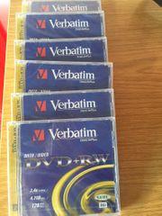 5 x DVD RW VERBATIM