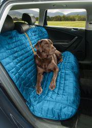 Kurgo Autoschonbezug blau grau Loft