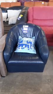 Sessel aus Leder gepflegt - HH12043