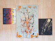 3er Set Abstrakt