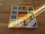 altes Bilder Domino Spiel Tiere