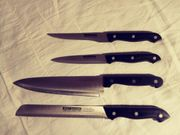 4 Küchen- und Kochmesser
