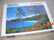 Puzzle Tropische Landschaft
