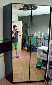 Eckkleiderschrank Spiegel Kleiderschrank
