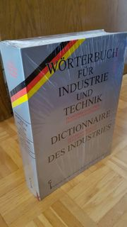 Wörterbuch französisch-deutsch für Industrie und