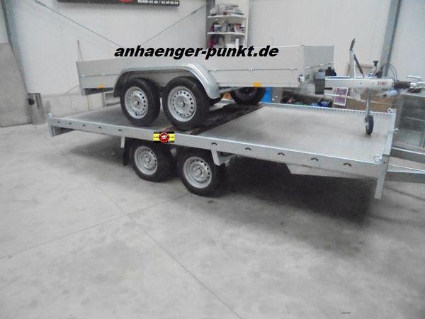 PKW Autotransporter ALUMINIUM - Boden UNIVERSALANHÄNGER