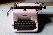 Deko - Schreibmaschine