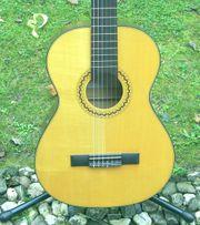 Verkaufe schöne 3 4 Konzertgitarre