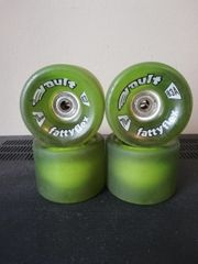 Fattyflex Longboardwheels mit Abec 5