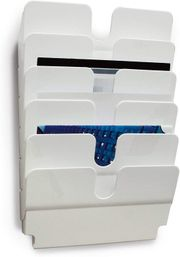 Wandprospekthalter Zeitschriftenhalter mit 6 Fächern