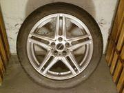 4 M S-Reifen mit Alu-Felgen