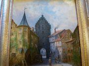 Meersburg Bodensee sig Top Gemälde